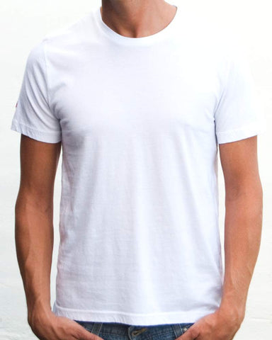 Ibizentials Crew T Shirt (Mens) : White