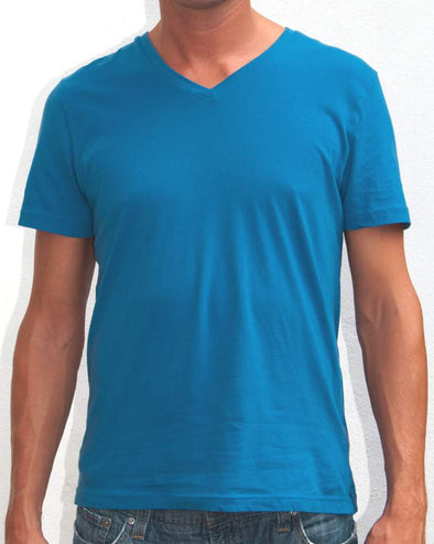 Ibizentials V-Neck T Shirt (Mens) : Denim