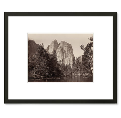 Carleton Watkins – Cathedral Rock
