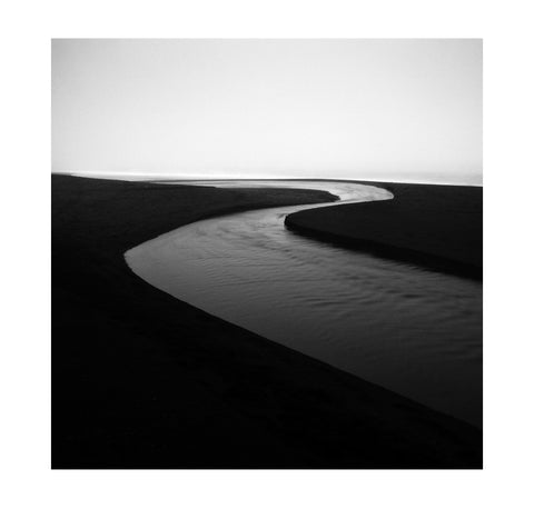 Michael Schlegel – Streaming through Black Sand I