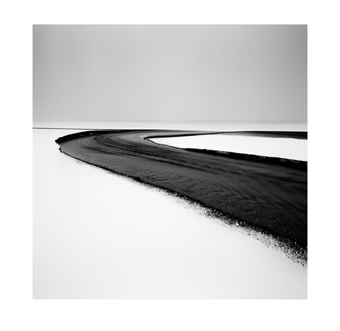 Michael Schlegel – Streaming through Black Sand II