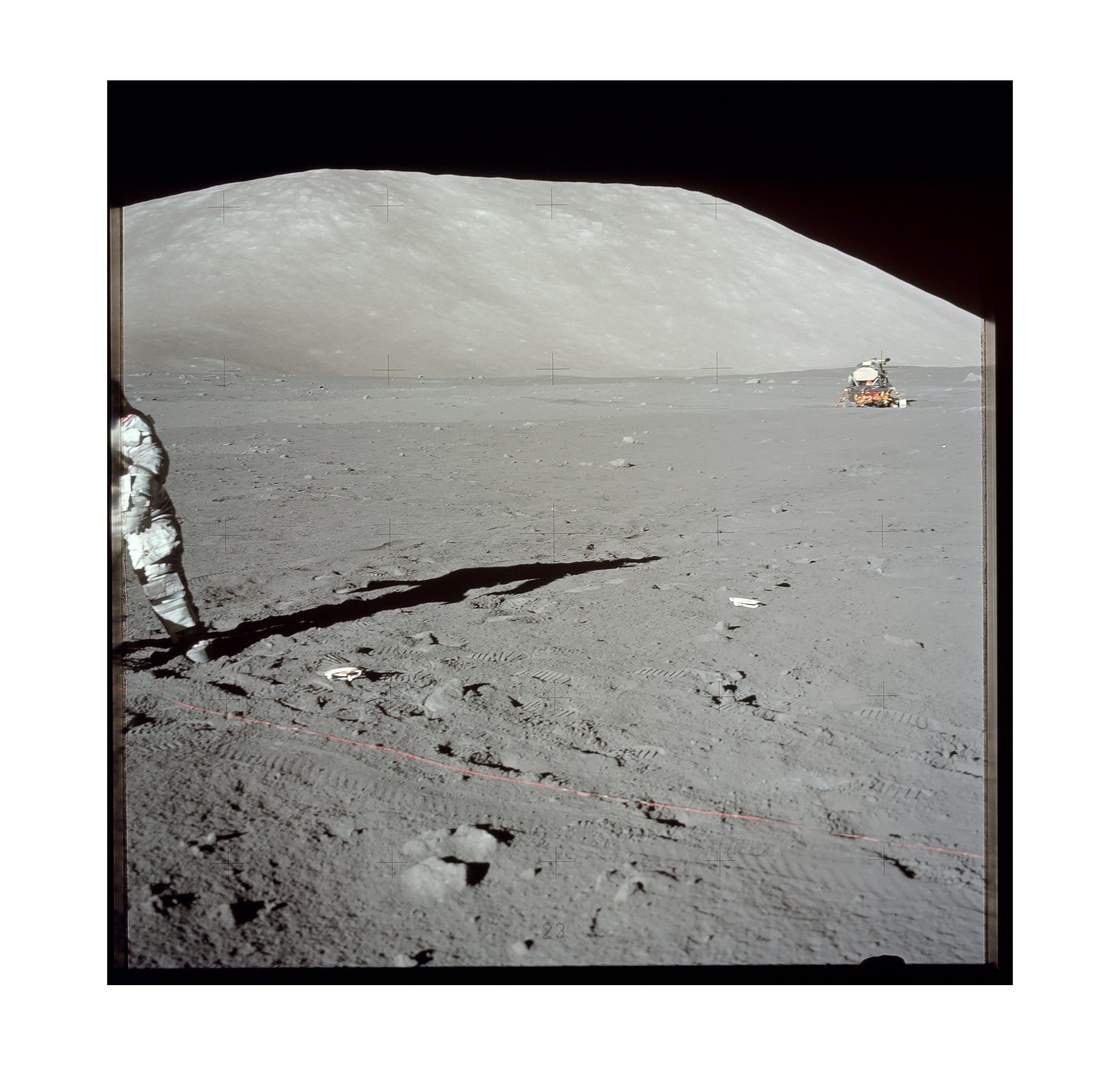Apollo 17 – Deploying Transmitter