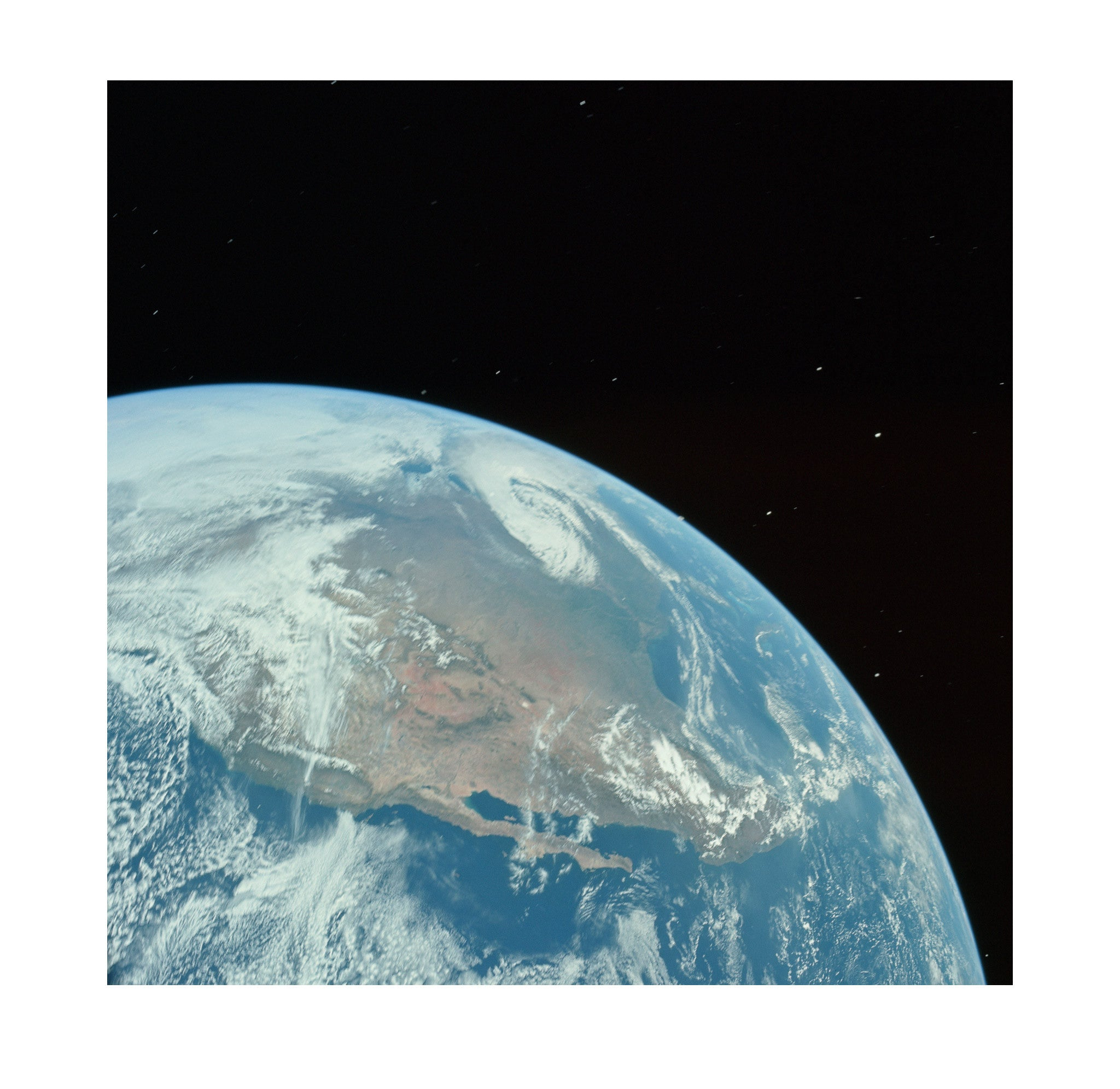 Apollo 16 – Earth