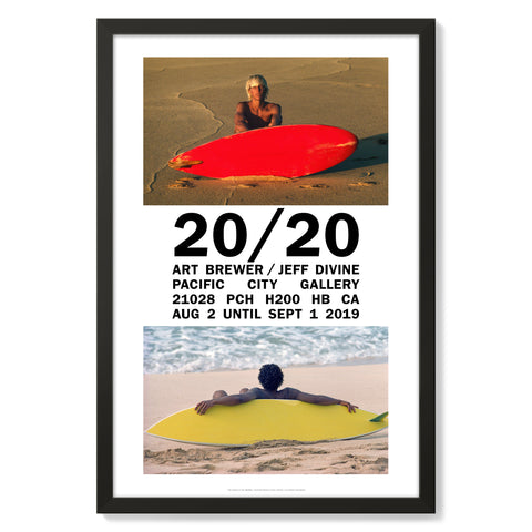 Art Brewer/Jeff Divine Pacific City Gallery Poster