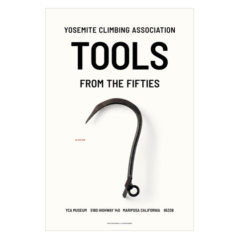 Yosemite Climbing Association Museum – Tools 2