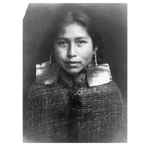 Edward Curtis - Tsawatenok Girl