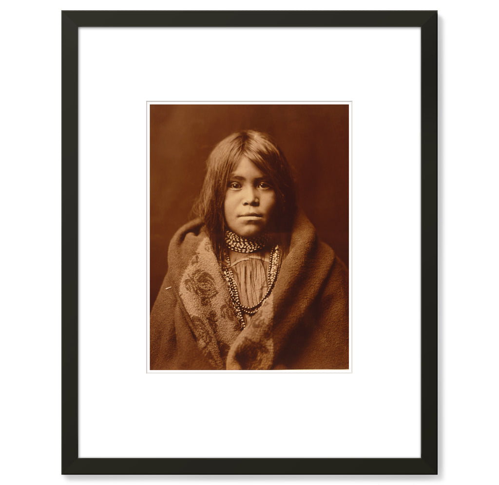 Edward Curtis - Apache Girl