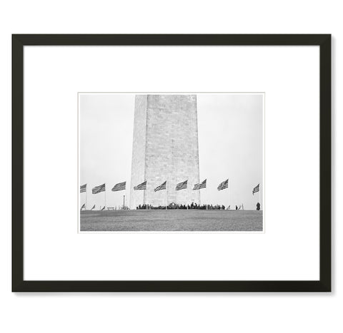 Unknown - Washington Monument, Lower Portion