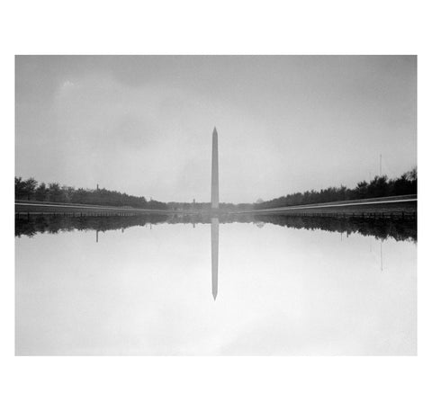 Unknown - Washington Monument and Reflecting Pool