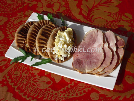 Karelia Pie with ham