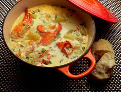 Nova Scotia Lobster Chowder