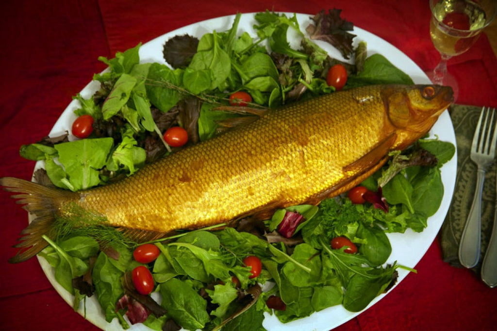 Whole whitefish hot smoked, catch weight