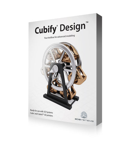 Cubify Design 3D printing software