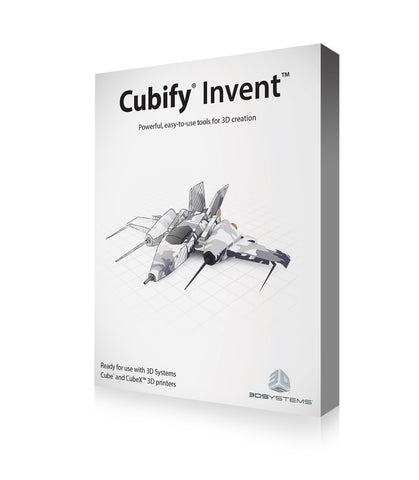 Cubify Invent 3D printing software