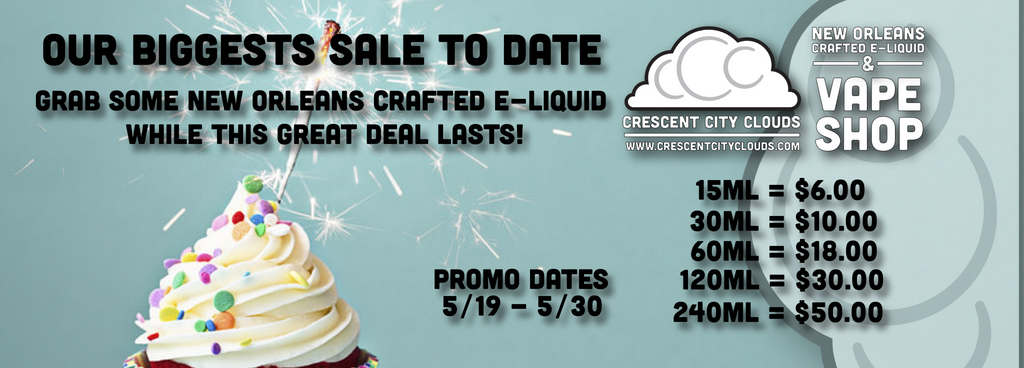 Our Biggest Sale to Date!