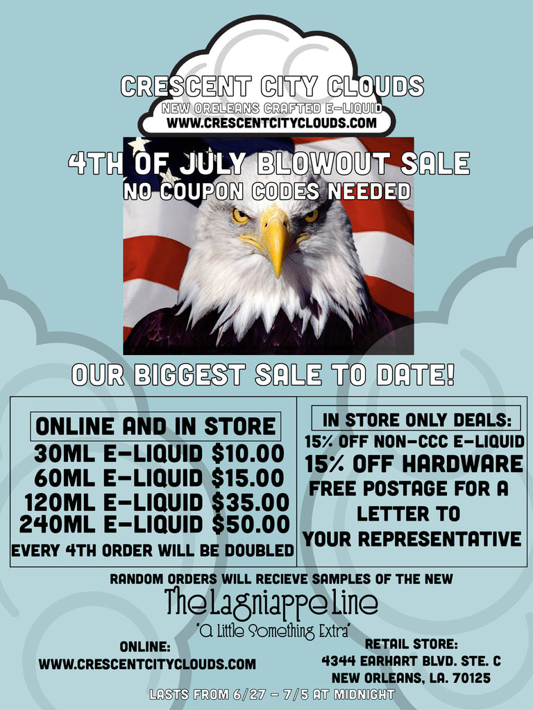 Fourth of July Blowout Sale