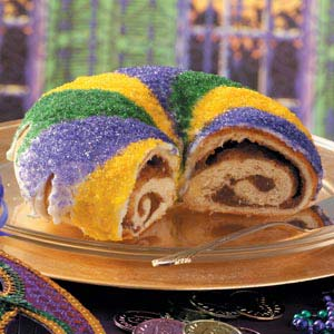 Crescent City Clouds: Fat Tuesday- King Cake