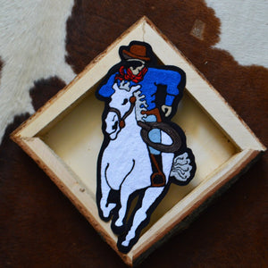 Chainstitch Patch- Lone Ranger