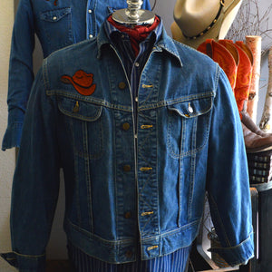 Vintage Jacket- Lone Ranger Lee Western Denim