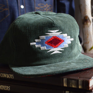 Ball Cap- Chimayo Cord Embroidered