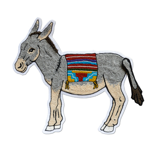 Chain Stitch Patch- 10 MOST WANTED Pin the Tail Donkey
