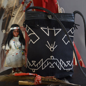 Bandana Bag- Thunderbird Black