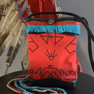 Bandana Bag- Thunderbird Red
