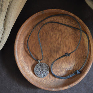 Necklace- Hand Crafted Spiritual Medallion