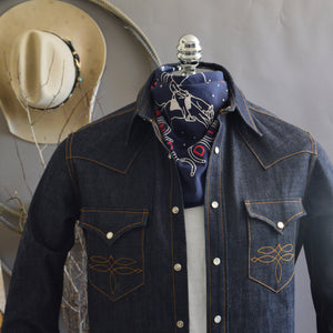 Bandana- Cowboy Dreams Navy