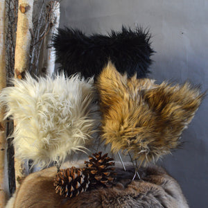 Hat- Reversible Faux Fur