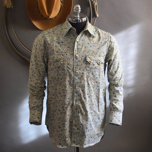 Highwayman- Men's Long Sleeve Floral Western Shirt
