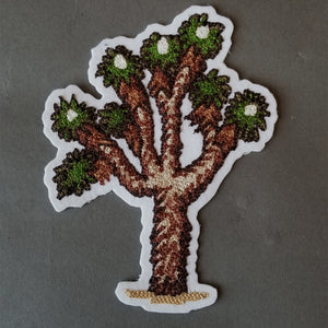 Chain Stitch Patch- Joshua Tree