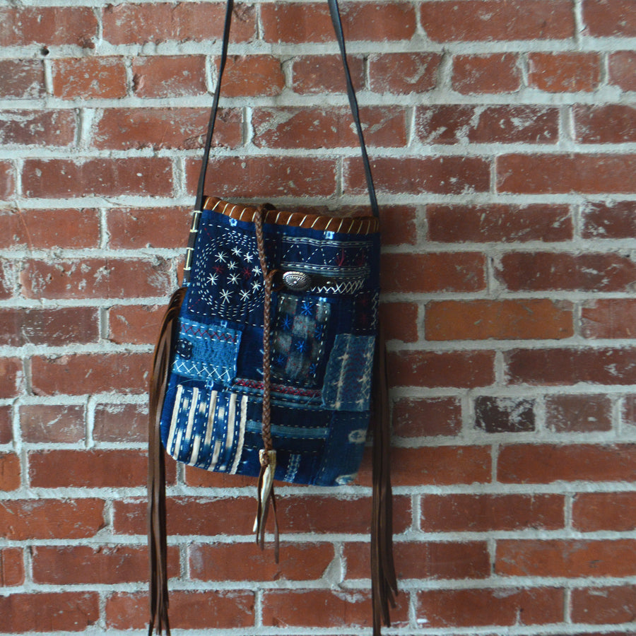 Bag- Nao Boro & Handstitched Crossbody