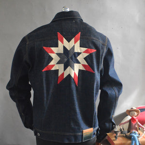 Lone Star Working Class Hero-Men's Denim Jacket
