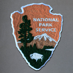 Chain Stitch Patch- National Park Service Badge