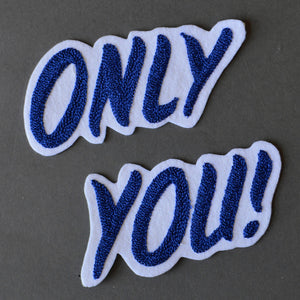 Chain Stitch Patch Set- Only You