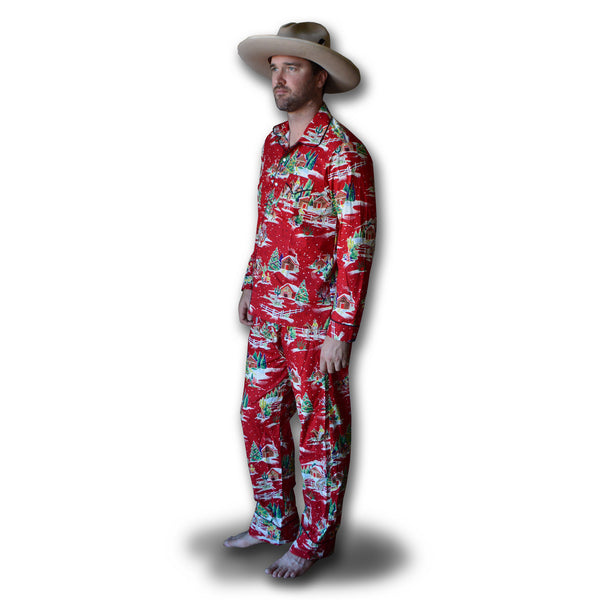 COWBOY PAJAMAS- 2 Pc Cowboy Christmas SET