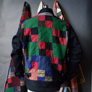 Patchwork Grizzly-Americana Quilt Jacket