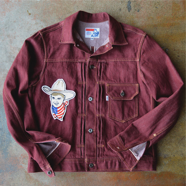 Chain Stitch Patch- USA Range Tailor