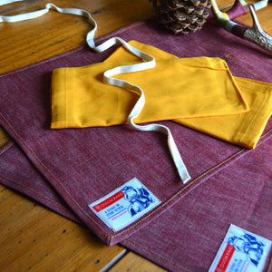 Placemats- Denim Set/2