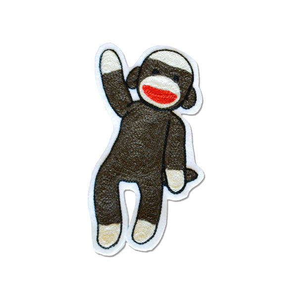 Chain Stitch Patch- 10 MOST WANTED Sock Monkey
