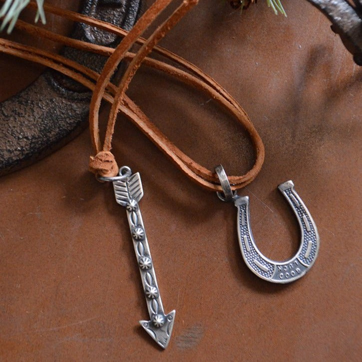 Necklace- Sterling Arrow