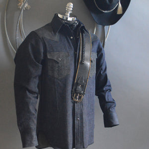 The Villain- Men's Selvedge Denim Shirt