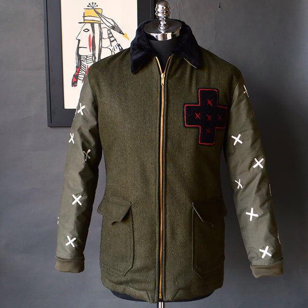 The Warriors - Men's Special Edition Zip Front Jacket