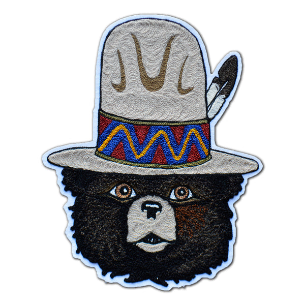 Chain Stitch Patch- CHIEF SMOKEY