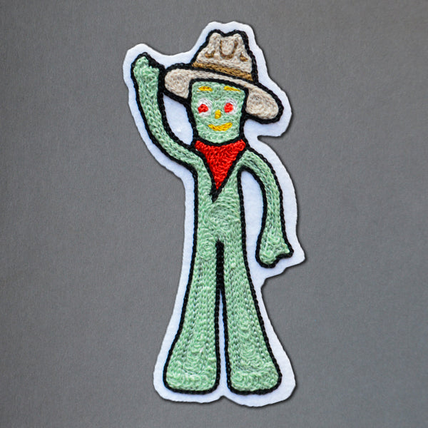 Chain Stitch Patch- 10 MOST WANTED Cowboy Gumby