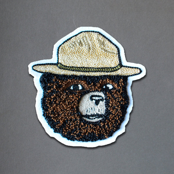 Chain Stitch Patch- 2019 Smokey Bear