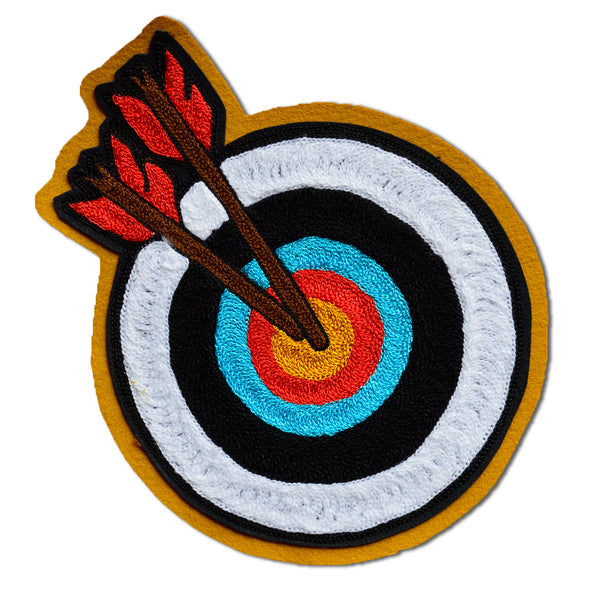 Chain Stitch Patch- Archery Target