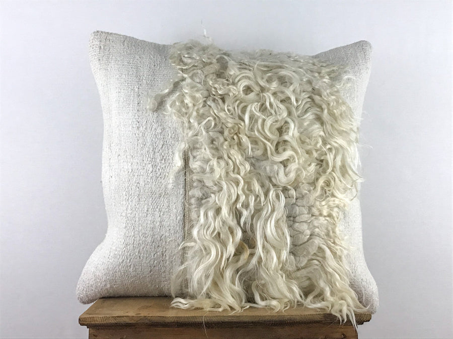 Hemp and Goat Cushion