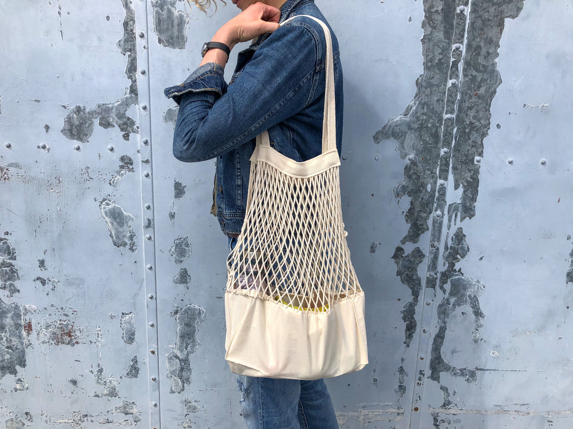 Sac filet et coton - Accent du Monde